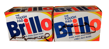 Andy Warhol, Two Brillo Boxes