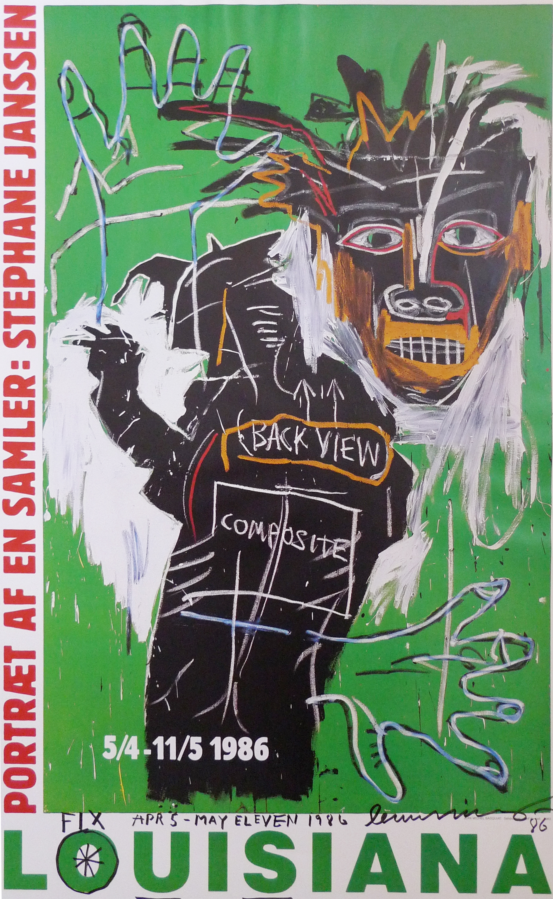 Jean-Michel Basquiat, Portrait of a Collector: Stephane Janssen
