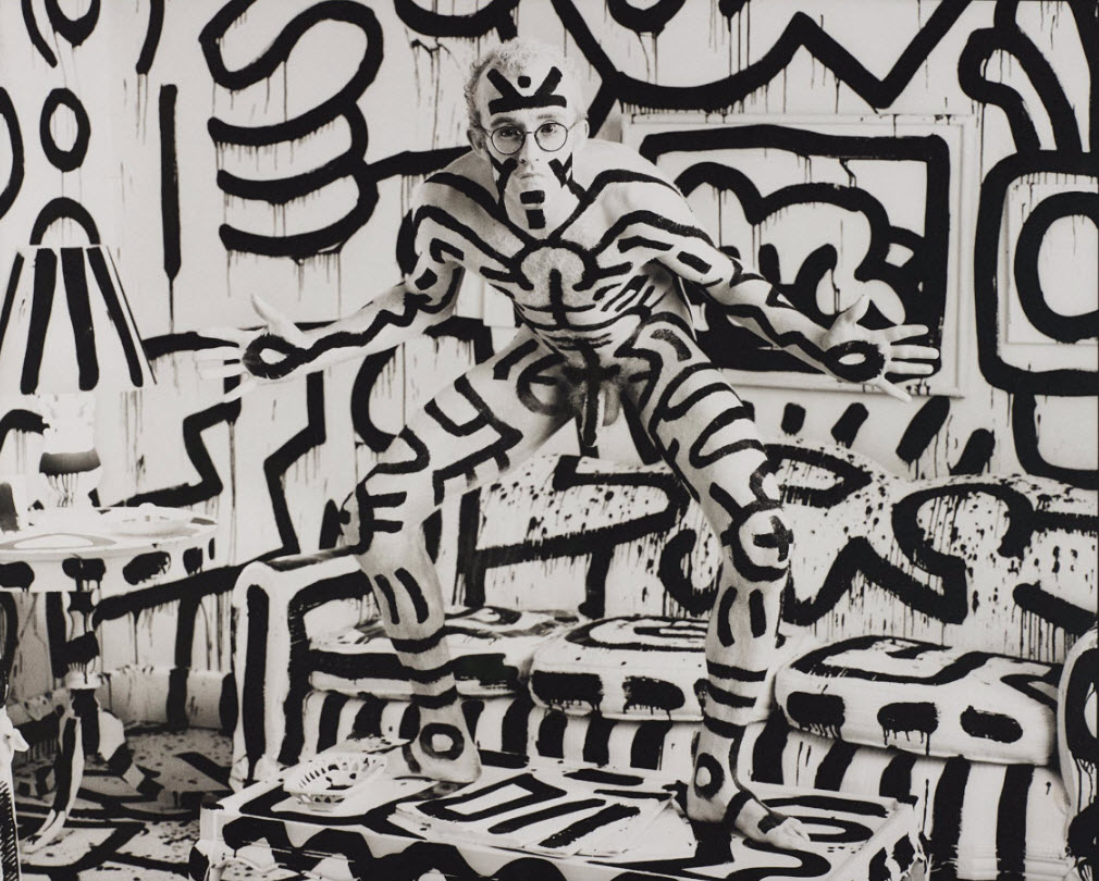 Annie Leibovitz, Keith Haring, New York