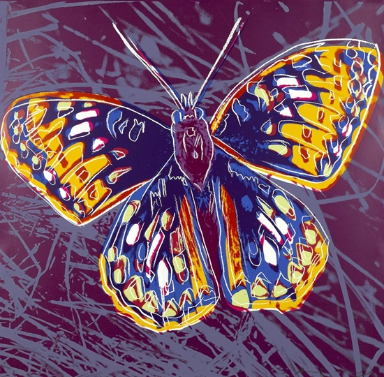 Andy Warhol, San Francisco Silverspot (from Endangered Species)