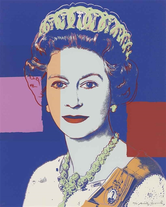 Andy Warhol, Queen Elizabeth II of the United Kingdom (from Reigning Queens)